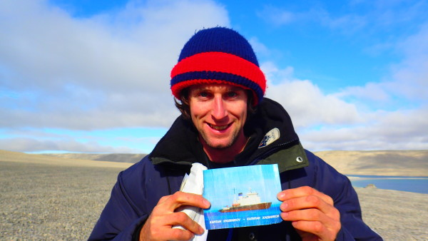This brings back memory's. A postcard from the Kapitan Khlebnikob that I spent 2 month on in Antarctica