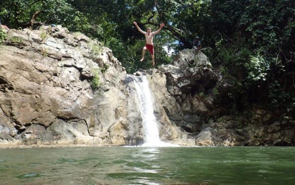 Such a fun waterfall
