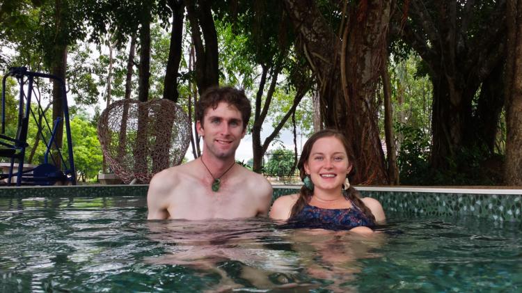 Pong Phra Hot pools Chiang Rai
