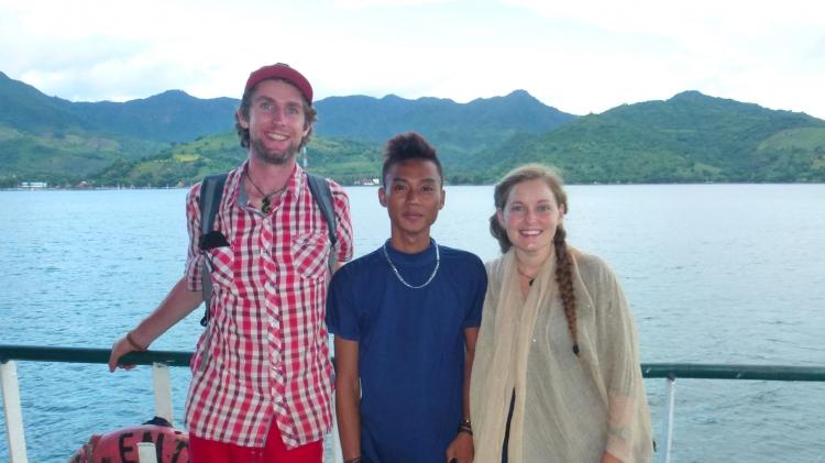 Friends in Indonesia
