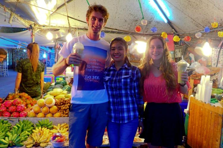 Fruit Smoothies in Pattaya