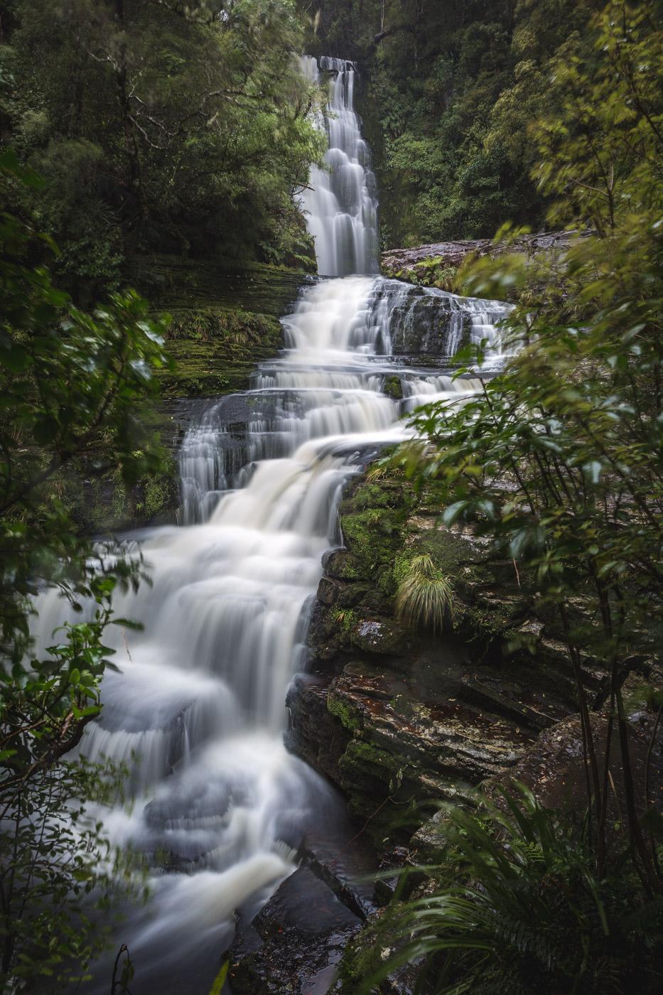 McClean Falls, South Island, New Zealand