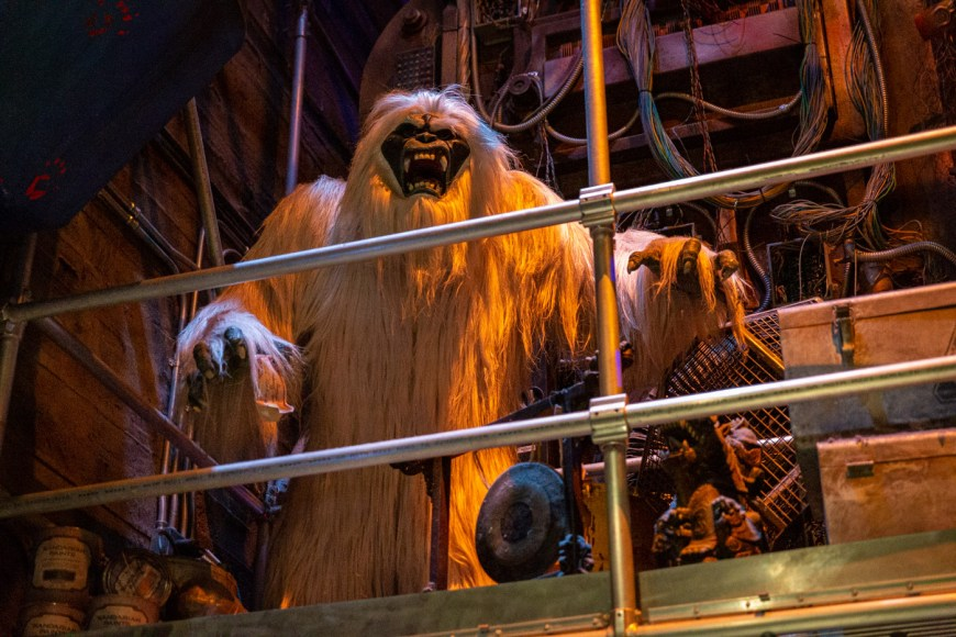 Harold the Yetty at Guardians of the Galaxy at California Adventure, Disneyland