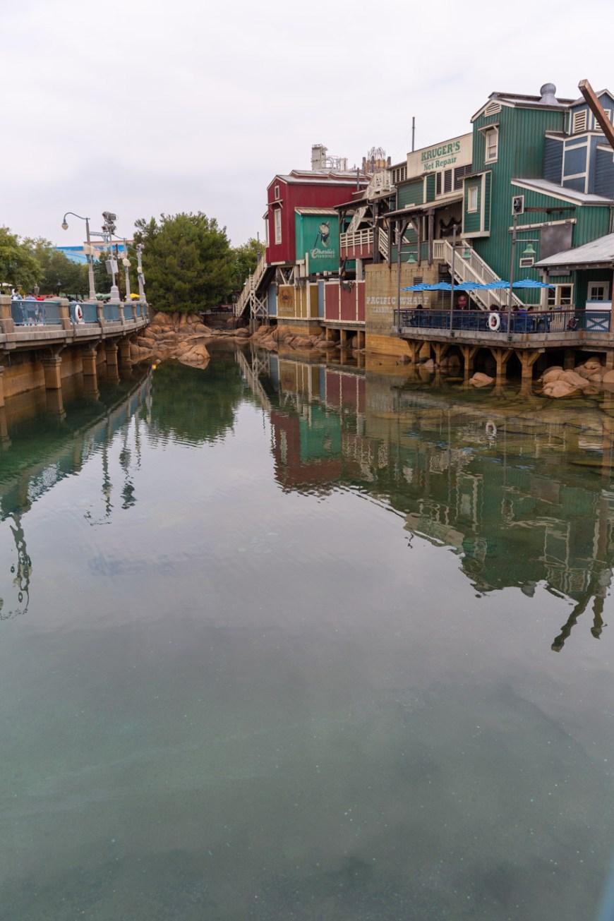 The warf, Disney's California Adventure.
