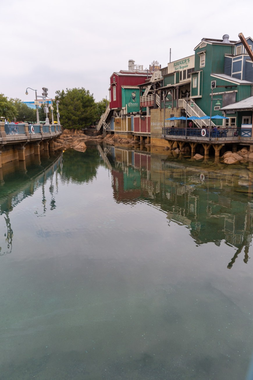The warf, Disney's California Adventure.