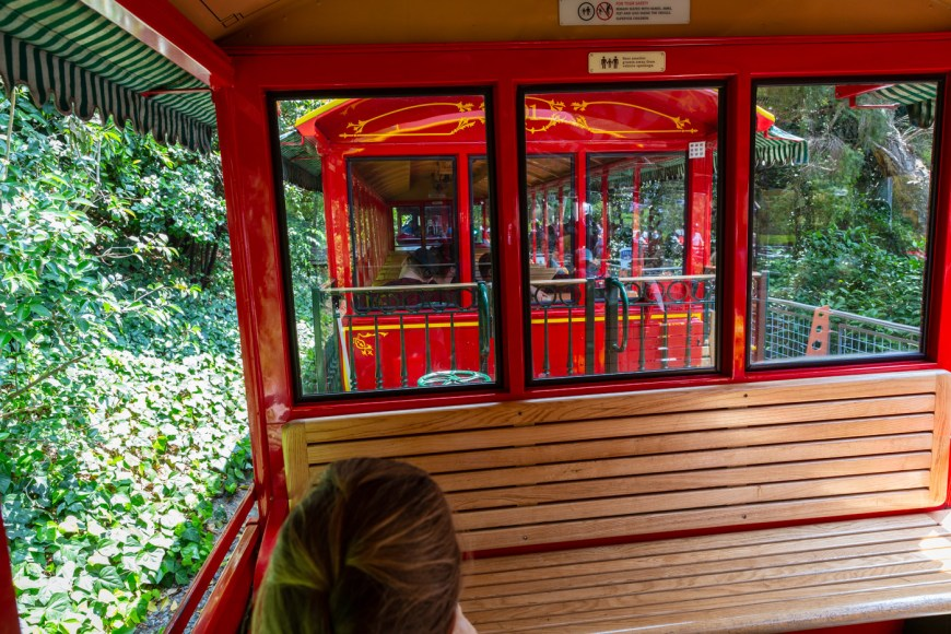 The Disneyland Railroad, Tomorrowland, Disneyland