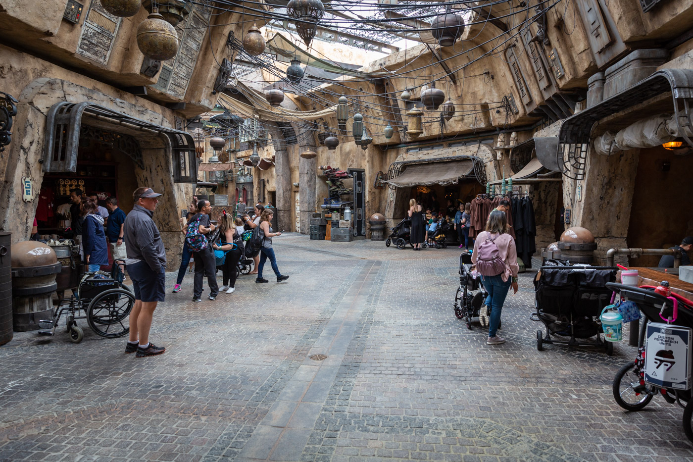 The Market inside Disneyland's Galaxy's Edge