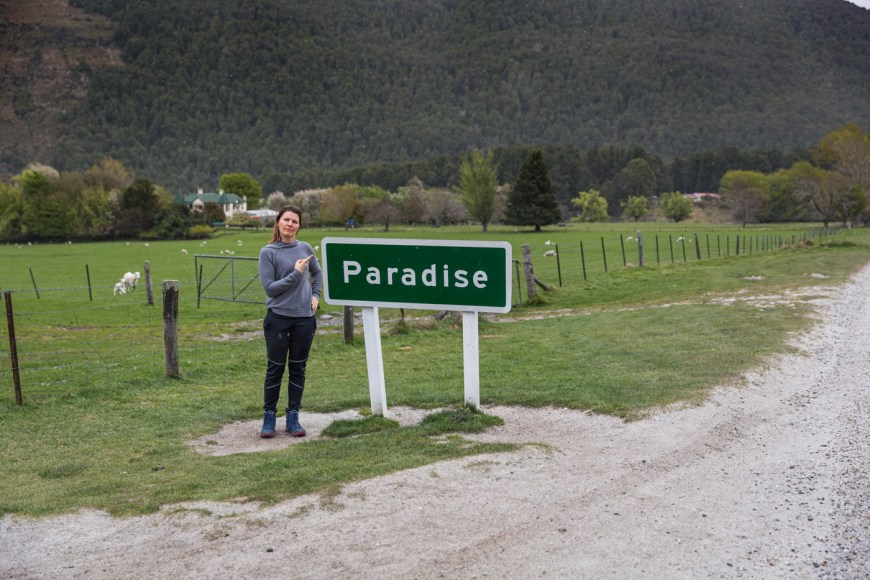 Another Paradise In the middle of nowhere. South Island, New Zealand.