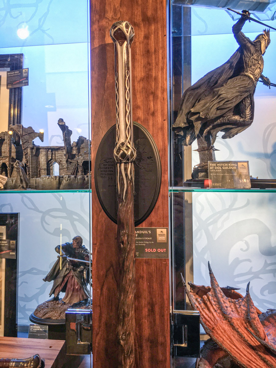The Lord of the Rings, Weta Workshop tour, Wellington, North Island, New Zealand