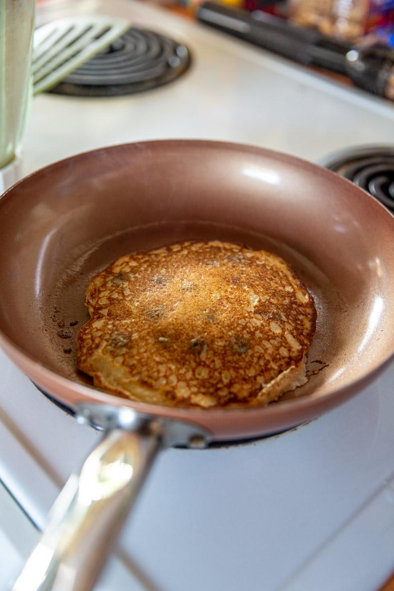 Cottage Cheese Oatmeal Pancake Recipe