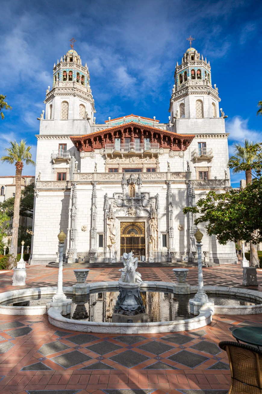 The Casa Grande at Hearst Castle. Hearst Castle Tours.