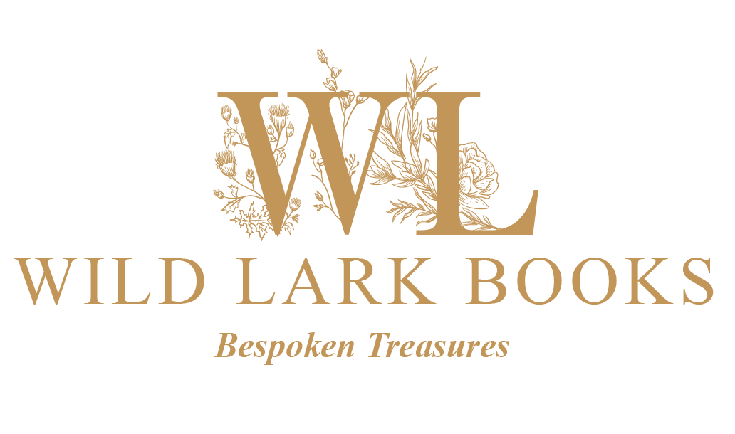 Wild Lark Books Gold Logo