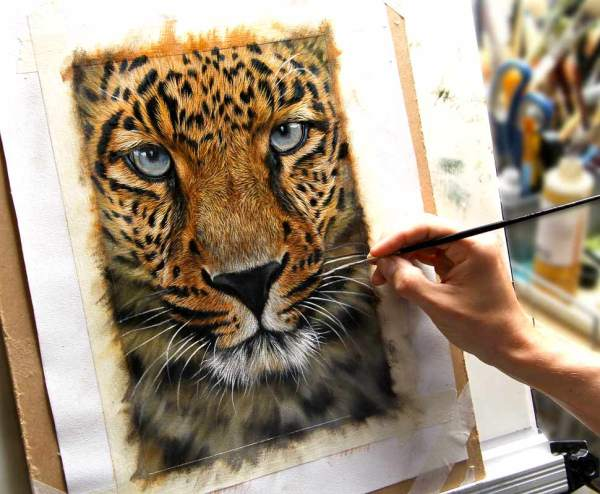 Easel Draw And Paint Animals - Wildlife