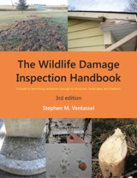 Wildlife Damage Inspection Handbook, 3rd Ed. Cover by Stephen M. Vantassel
