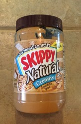 Skippy Peanut Butter, Don't let your customer see this. Photo: Stephen M. Vantassel