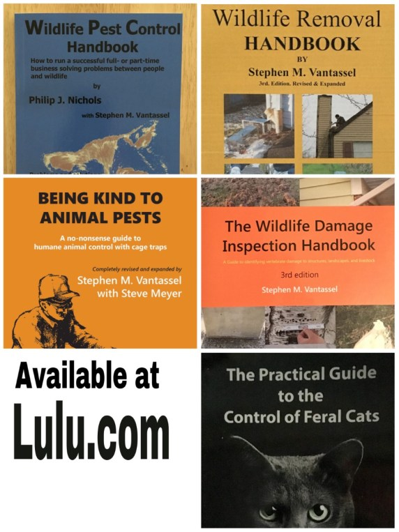 Books by Wildlife Control Consultant, LLC.