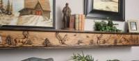 Fireplace Mantels & Designer Shelves