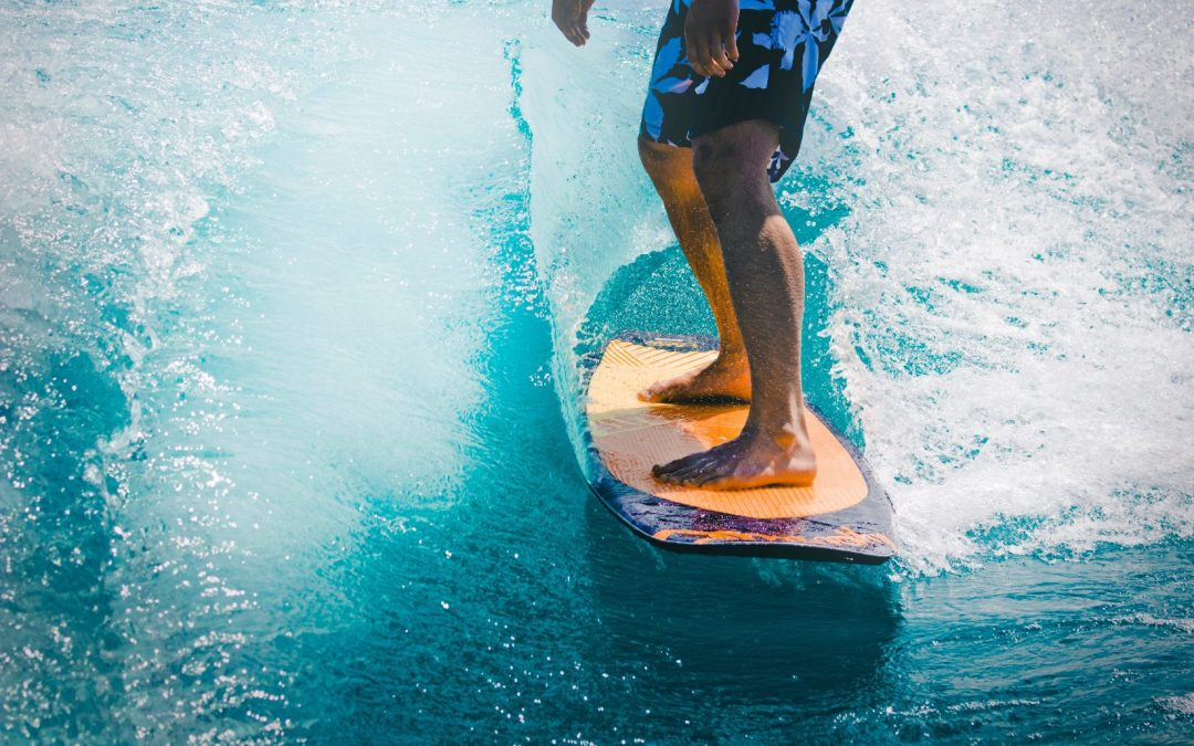 Surfing extended metaphor poem