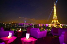 Paris Eiffel Tower View Hotel Rooftop