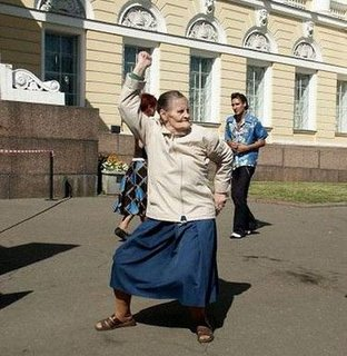 Dancing-Old-Woman