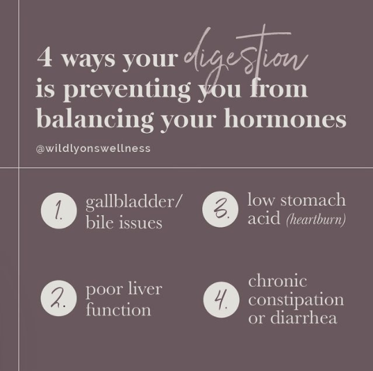 Four Ways Your Digestion is Preventing You From Balancing Your Hormones