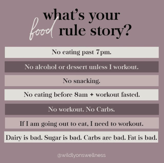 What's Your Food Rule Story?