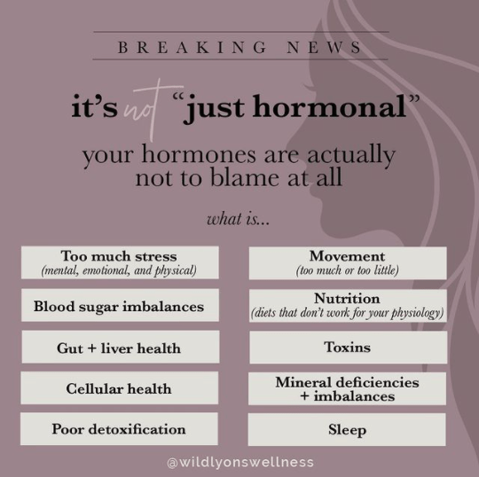 "It's Not ""Just Hormonal"""