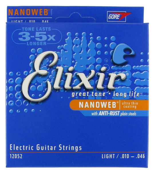 Recensione corde per chitarra Elixir Nanoweb