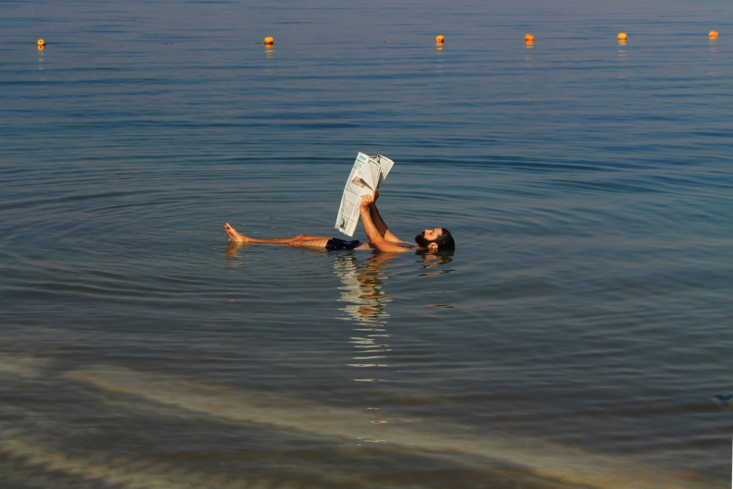 Dead Sea Jordan Floating