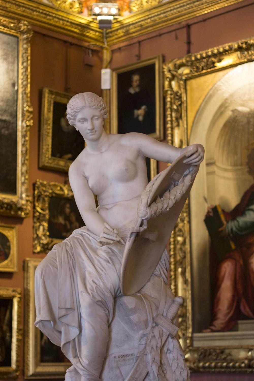 Galleria Paladina Palazzo Pitti Statues