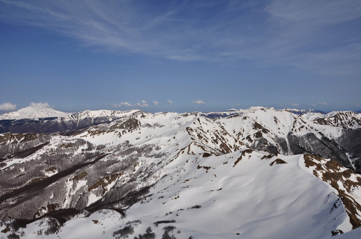 Monte Rondinaio Winter Hike