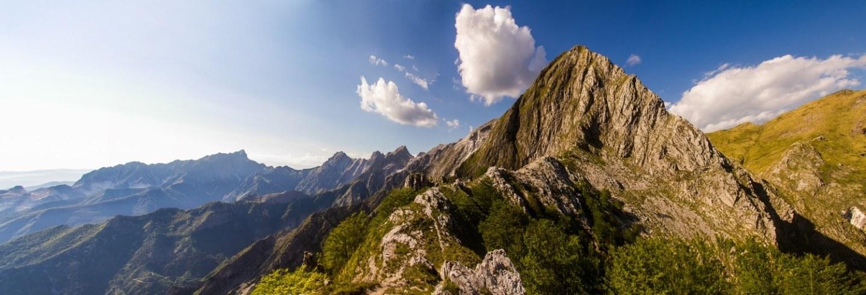 Schienale dell'Aasino Apuan Alps Monte Macina