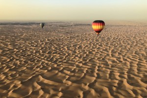 Hot Air Balloon Dubai Desert