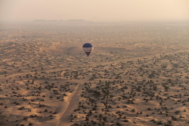 Hot Air Balloon Dubai Desert