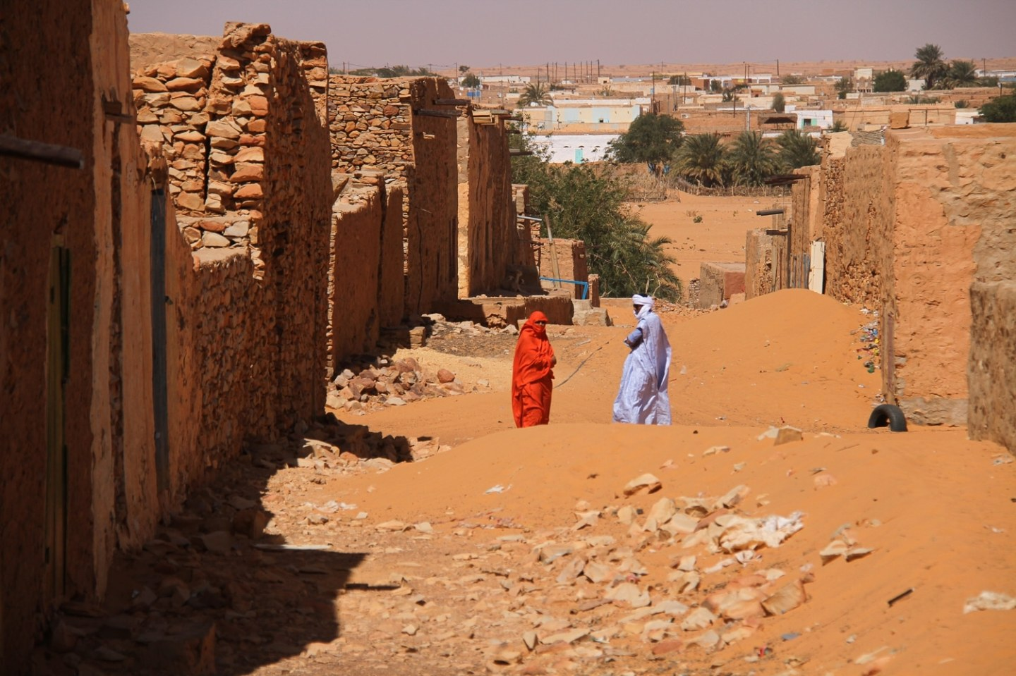 Chinguetti people Mauritania