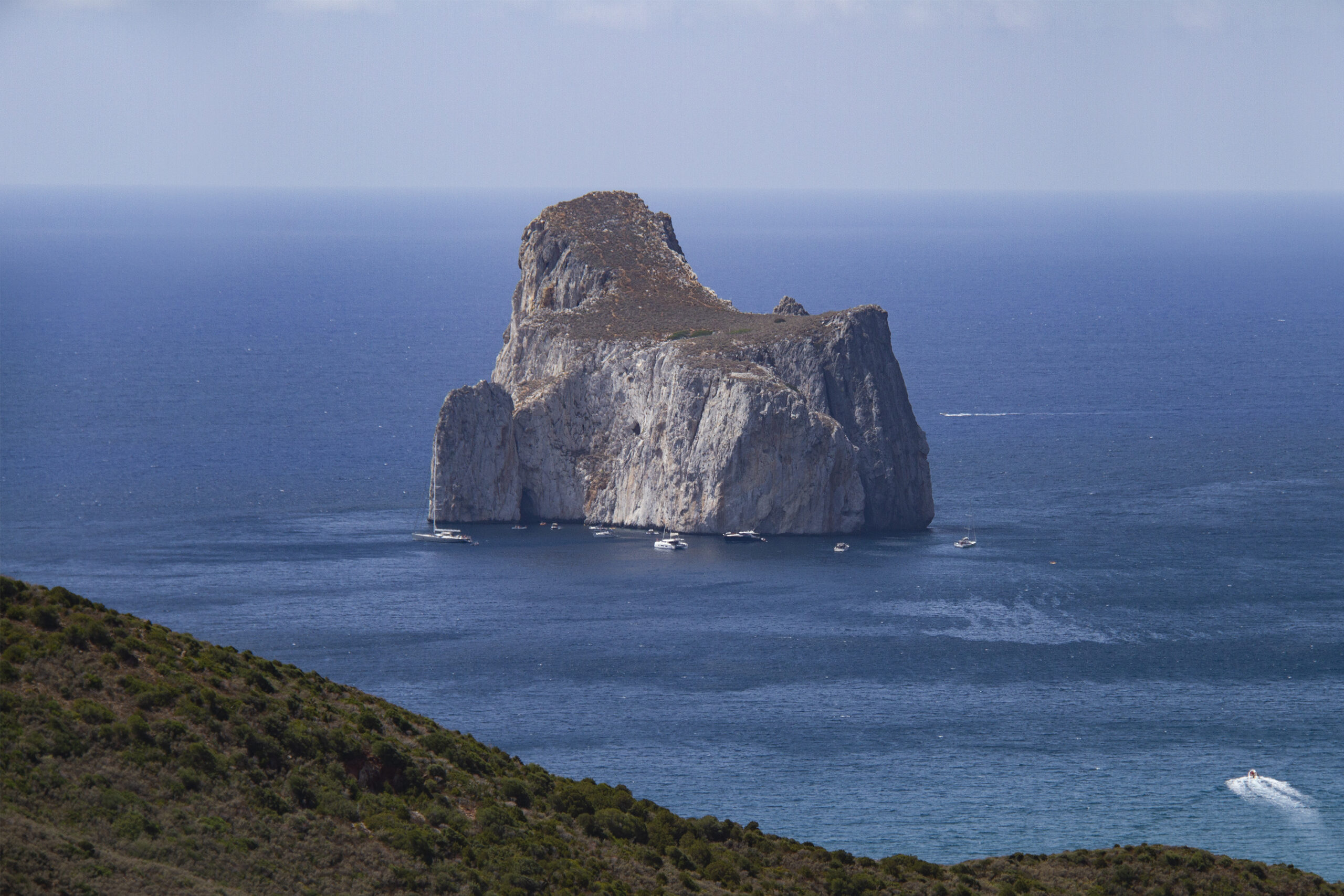 Via Ferrata Pan di Zucchero Sardinia
