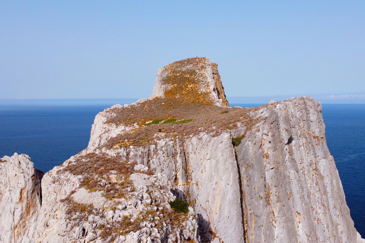 Via Ferrata Pan di Zucchero Plateau Sardinia