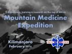 Mountain Medicine Expedition