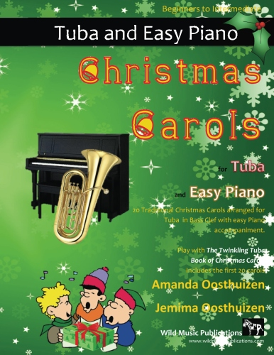 Christmas Carols for Tuba and Easy Piano