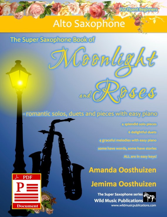 The Super Saxophone Book of Moonlight and Roses Download