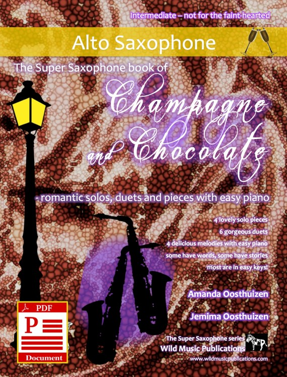 The Super Saxophone book of Champagne and Chocolate - Download