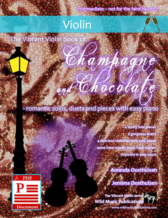 The Vibrant Violin book of Champagne and Chocolate - Download