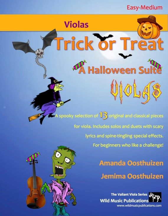 Trick or Treat - A Halloween Suite for Violas