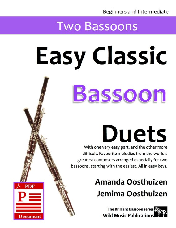 Easy Classic Bassoon Duets Download
