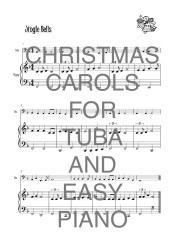 Christmas Carols for Tuba and Easy Piano Web Sample