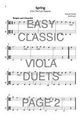 Easy Classic Viola Duets Web Sample2