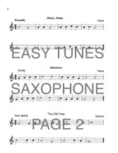 Easy Tunes Sax Web Sample3
