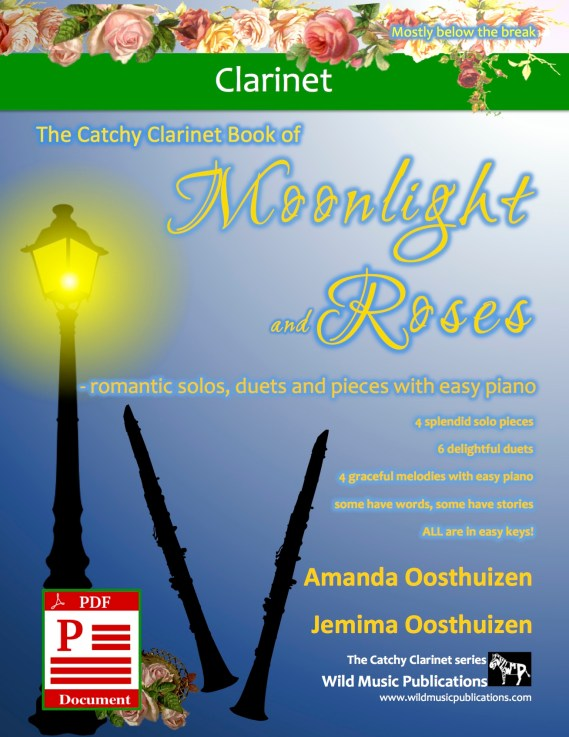 The Catchy Clarinet Book of Moonlight and Roses Download