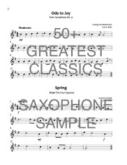 50+ Greatest Classics Saxophone WEB SAMPLE