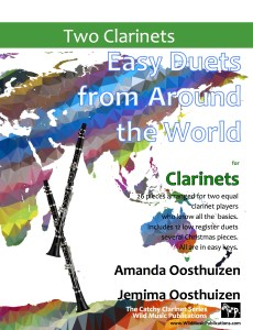 Easy Duets from Around the World for Clarinets